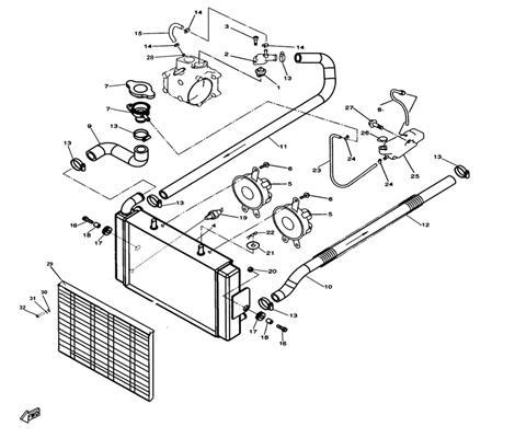 circuit de refroidissement pour quad hytrack hy320 4x2 4x4 achat en ligne pi ces quad. Black Bedroom Furniture Sets. Home Design Ideas